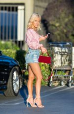 CJ PERRY in Denim Shorts Out and About in Los Angeles 11/24/2017