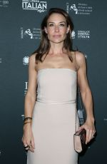 CLAIRE FORLANI at a Ciambra Screening at Cinema Italian Style in Los Angeles 11/16/2017