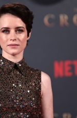 CLAIRE FOY at The Crown Season 2 Premiere in London 11/21/2017