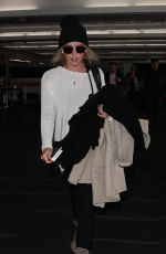 CLAIRE HOLT at LAX Airport in Los Angeles 11/29/2017