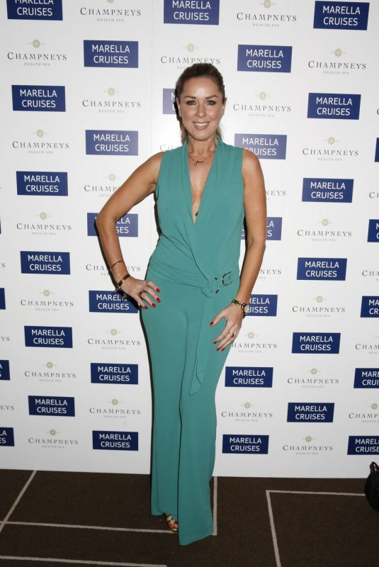 CLAIRE SWEENEY at Marella Cruises First Spa at Sea Launch in London 11/28/2017