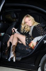 CLARA PAGET at Louis Vuitton x Vogue Party in London 11/21/2017
