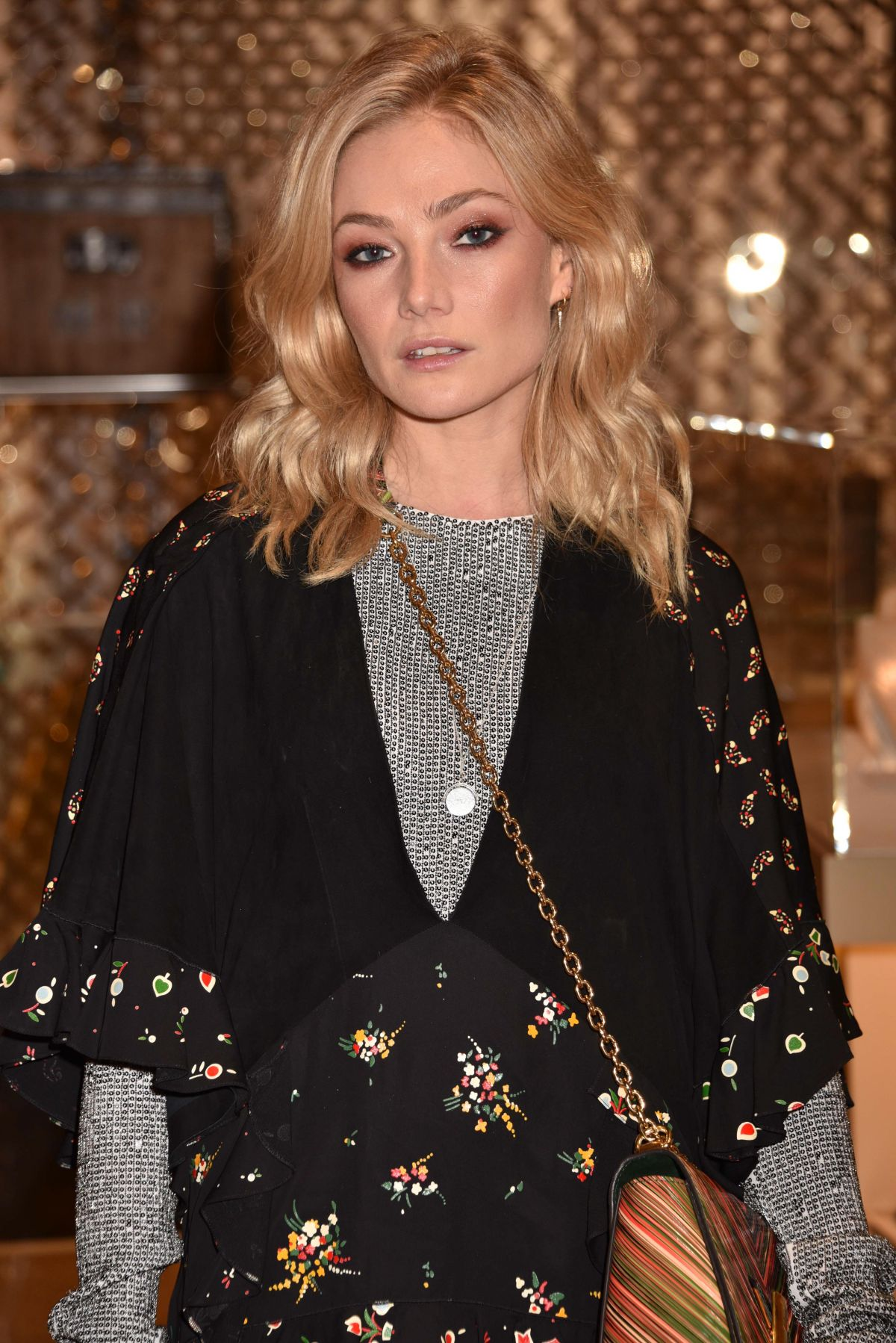Clara Paget At Louis Vuitton X Vogue Party In London 11 21