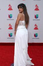 CLARISSA MOLINA at Latin Grammy Awards 2017 in Las Vegas 11/16/2017