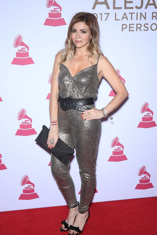 CLAUDIA BETANCUR at 2017 Latin Recording Academy Person of the Year Awards in Las Vegas 11/15/2017