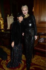 CLAUDIA WINKLEMAN and DAPHNE GUINNESS at Leopard Awards in Aid of the Prince