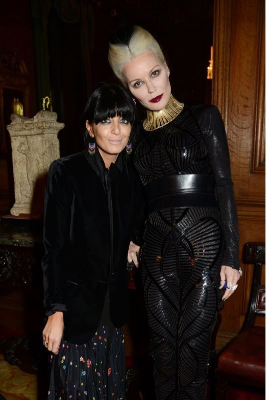 CLAUDIA WINKLEMAN and DAPHNE GUINNESS at Leopard Awards in Aid of the Prince's Trust in London 11/15/2017