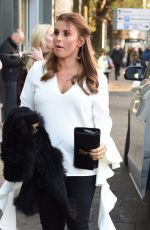 COLEEN ROONEY Arrives at Philip Armstrong Fashion Show in Manchester 11/24/2017