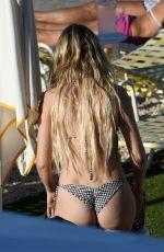 CORINNE OLYMPIOS in Bikini at a Pool in Miami 11/26/2017