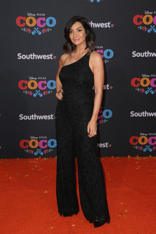 COURTNEY LAINE MAZZA at Coco Premiere in Los Angeles 11/08/2017