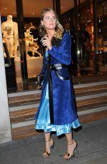 CRESSIDA BONAS at Louis Vuitton x Vogue Party in London 11/21/2017