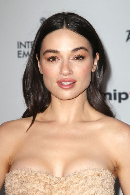 CRYSTAL REED at 45th International Emmy Awards in New York 11/20/2017