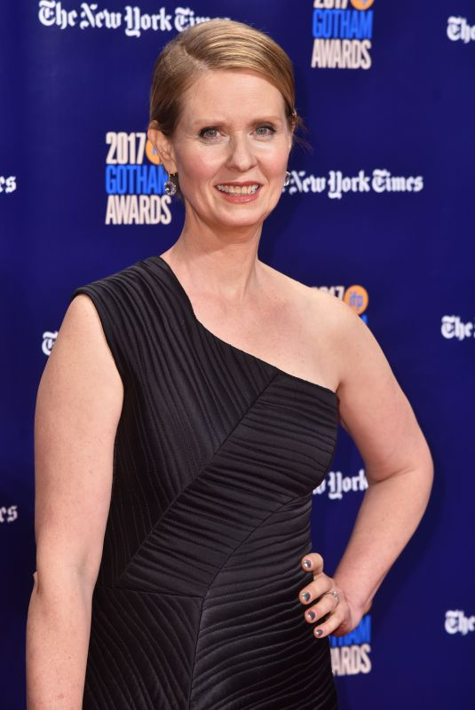 CYNTHIA NIXON at 2017 IFP Gotham Independent Film Awards in New York 11/27/2017