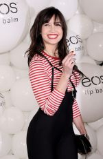 DAISY LOWE at Eos Lip Balm Winter Lips Party in London 11/14/2017