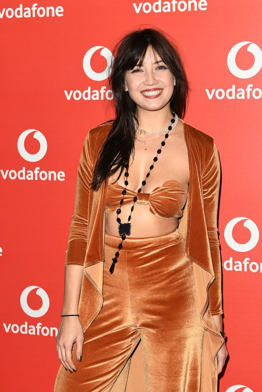 DAISY LOWE at Vodafone Passes Launch in London 11/01/2017