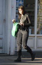 DAISY LOWE Out Shopping in Primrose Hill 11/06/2017