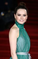 DAISY RIDLEY at Murder on the Orient Express Premiere in London 11/02/2017