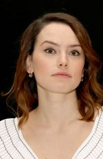 DAISY RIDLEY at Murder on the Orient Express Press Conference in London 11/03/2017