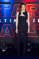 DAISY RIDLEY at Star Wars: The Last Jedi Premiere in Mexico City 11/20/2017
