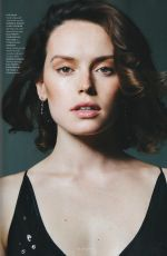 DAISY RIDLEY for Elle Magazine, UK December 2017