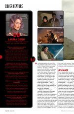 DAISY RIDLEY in Total Film Magazine, January 2018 Issue