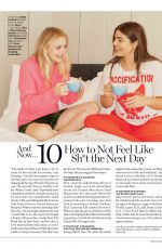 DAKOTA FANNING and ALESSANDRA GARCIA-LORIDO in Glamour magazine, January 2018