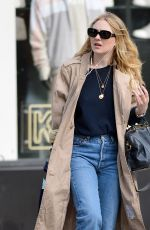 DAKOTA FANNING Out and About in New York 11/07/2017