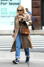DAKOTA FANNING Out for Iced Coffee in New York 11/06/2017