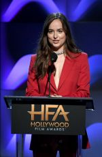 DAKOTA JOHNSON at 2017 Hollywood Film Awards in Beverly Hills 11/05/2017