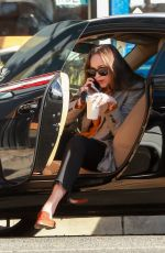 DAKOTA JOHNSON Out for Coffee in Los Angeles 11/09/2017