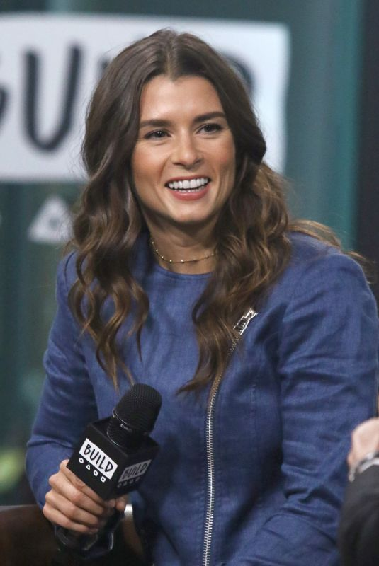DANICA PATRICK at Build Series to Discuss Danica in New York 11/01/2017