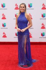 DANIELA DI GIACOMO at Latin Grammy Awards 2017 in Las Vegas 11/16/2017