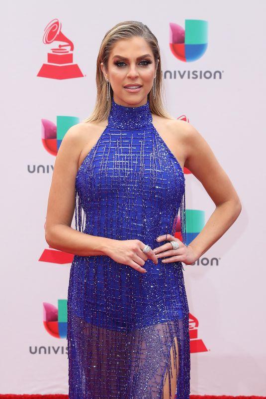 DANIELA DI GIACOMO at Latin Grammy Awards 2017 in Las Vegas 11/16/2017