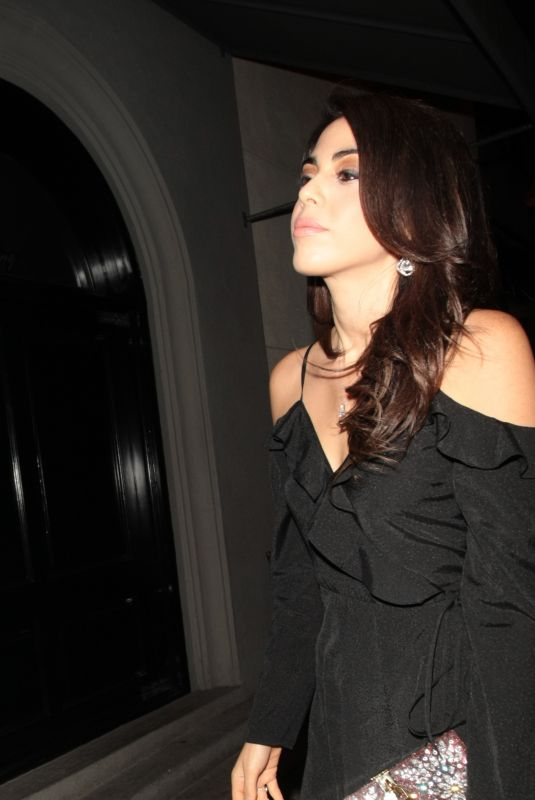 DANIELA PICK at Craigs Restaurant in Los Angeles 11/12/2017