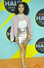 DANIELLA PERKINS at Nickelodeon Halo Awards in New York 11/04/2017