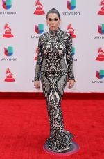 DANIELLA URBAY at Latin Grammy Awards 2017 in Las Vegas 11/16/2017