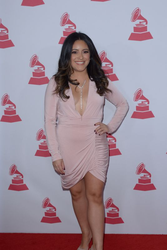 DANIELLE ALVAREZ at 2017 Latin Recording Academy Person of the Year Awards in Las Vegas 11/15/2017