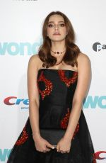 DANIELLE ROSE RUSSELL at Wonder Premiere in Los Angeles 11/14/2017