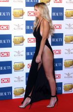 DANIELLE SELLERS at OK! Beauty Awards in London 11/28/2017