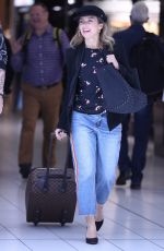 DANNI MINOGUE at Airport in Sydney 11/17/2017