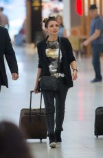 DANNII MINOGUE at Adelaide Airport 11/13/2017