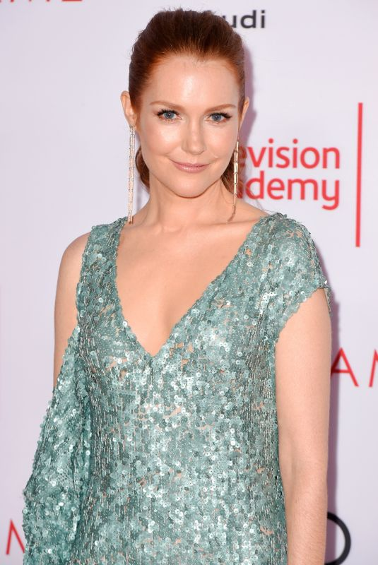 DARBY STANCHFIELD at Television Academy Hall of Fame Induction in Los Angeles 11/15/2017