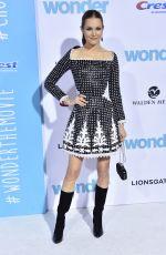DARBY STANCHFIELD at Wonder Premiere in Los Angeles 11/14/2017