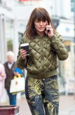 DAVINA MCCALL Out and About in London 11/27/2017