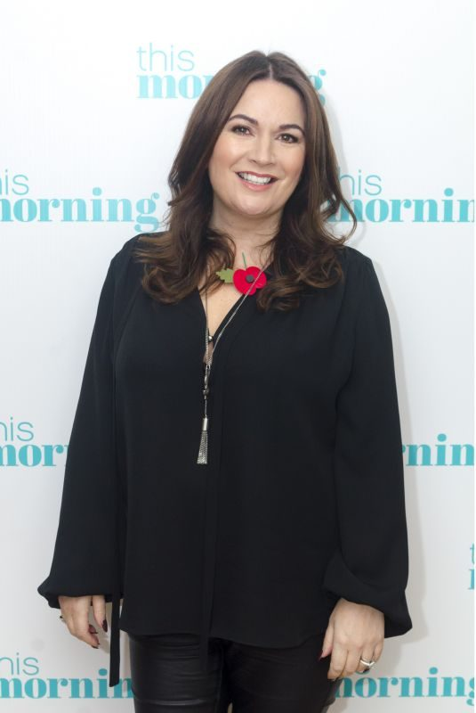DEBBIE RUSH at This Morning Show in London 11/10/2017