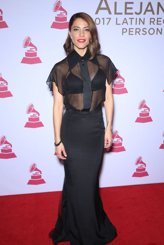 DEBI NOVA at 2017 Latin Recording Academy Person of the Year Awards in Las Vegas 11/15/2017