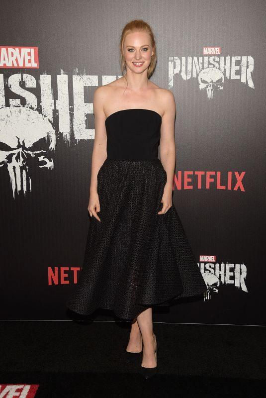 DEBORAH ANN WOLL at The Punisher Premiere in New York 11/06/2017