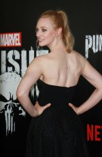 DEBORAH ANN WOLL at The Punisher TV Show Premiere in New York 11/06/2017