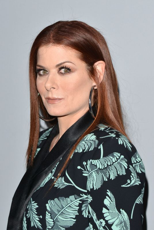 DEBRA MESSING at NBC/Universal's Press Junket in Los Angeles 11/13/2017