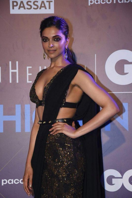 DEEPIKA PADUKONE at GQ Fashion Nights in Mumbai 11/13/2017